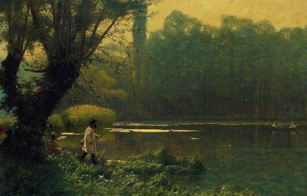 Summer Afternoon on a Lake